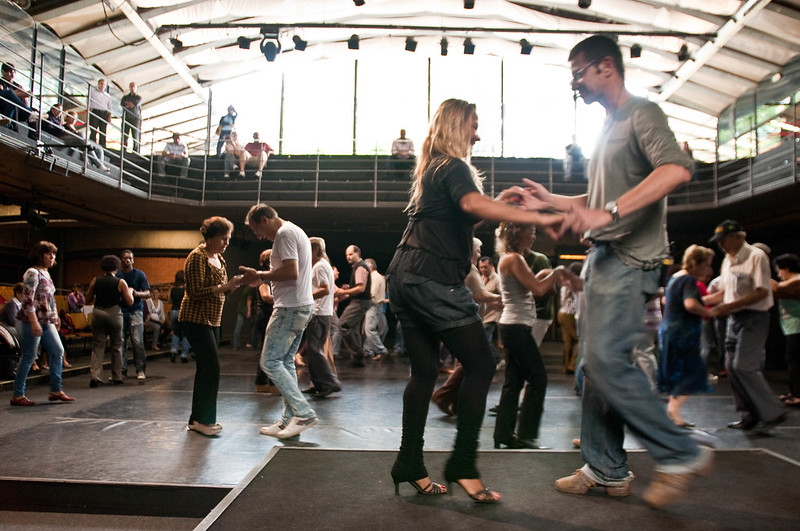 To improve your bachata dancing, go to your bachata class