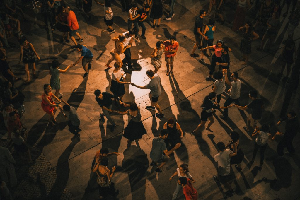 Go out to social dancing to improve your bachata dancing