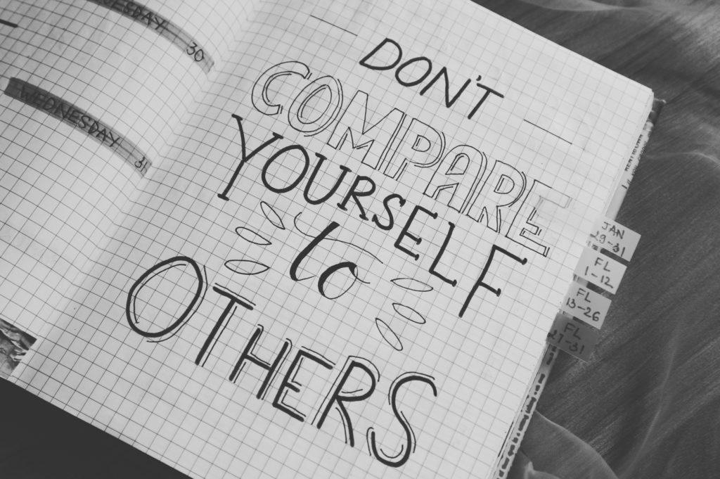 Don't compare to others to feel more confident on the dance floor