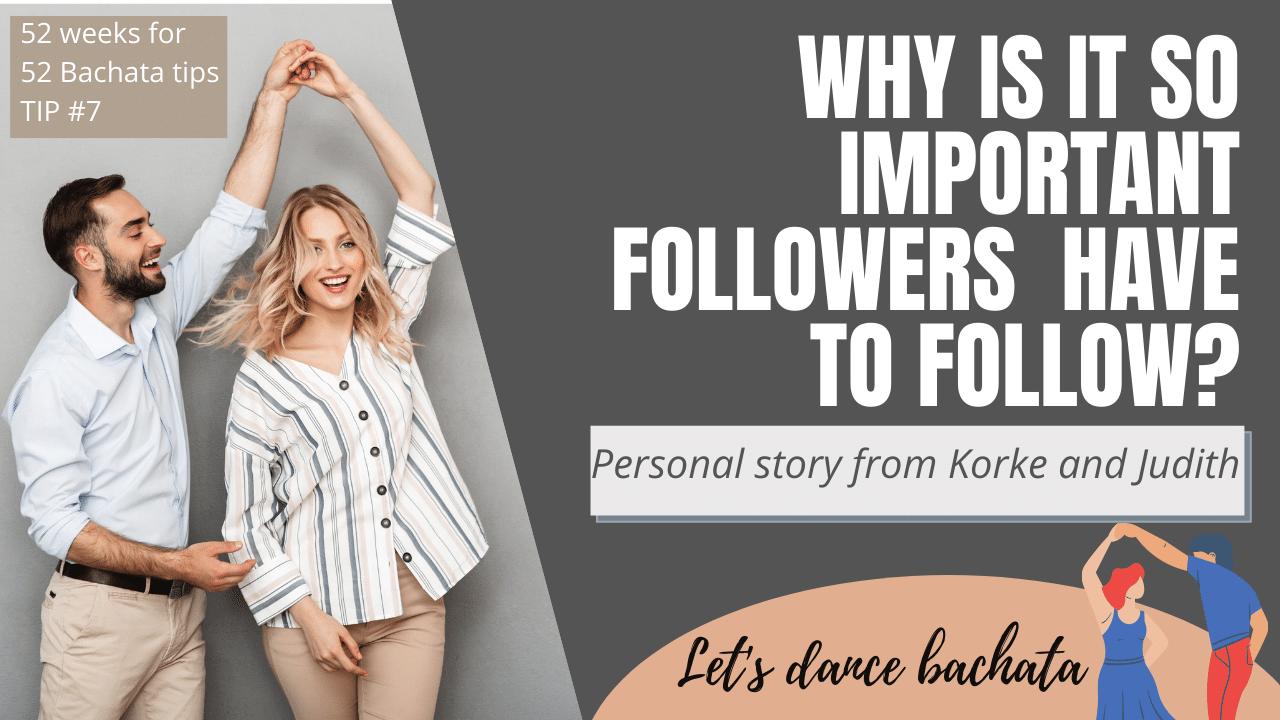 Followers you need to follow